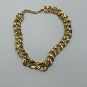 Monet Jewelry - Gold tone chain necklace by Monet